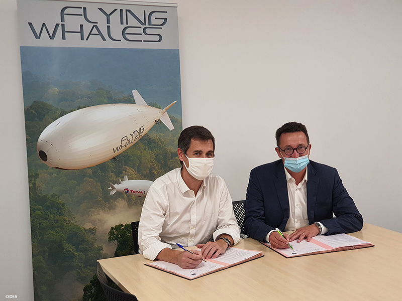 flying whales IDEA logistique